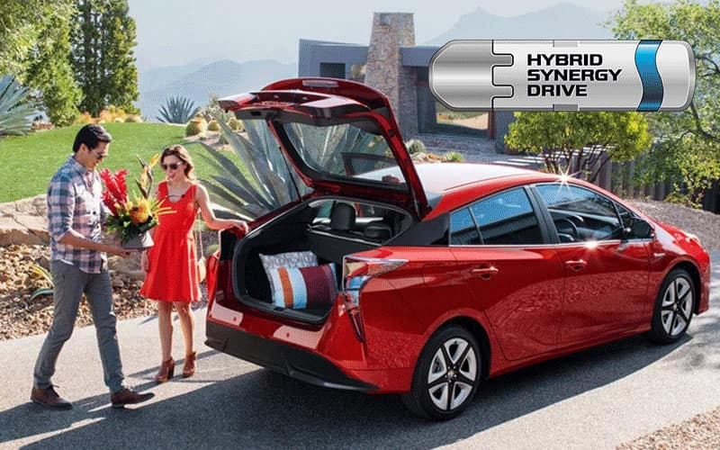 2020 Toyota Prius with Toyota Hybrid Synergy Drive