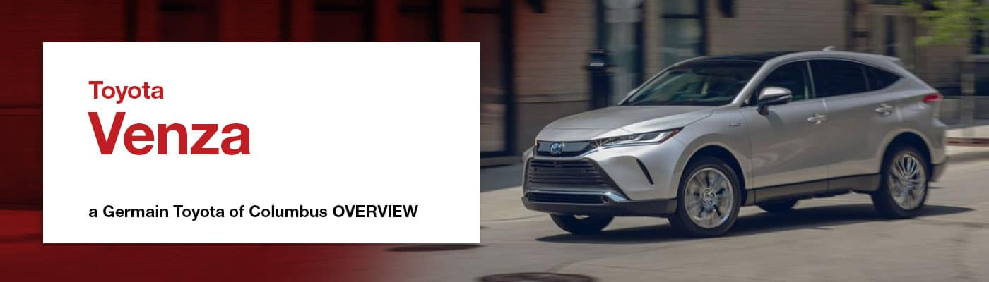 2021 Toyota Venza Model Overview - Germain Toyota of Columbus