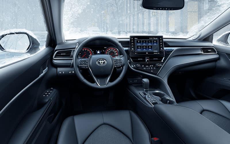 Toyota Camry XSE Interior