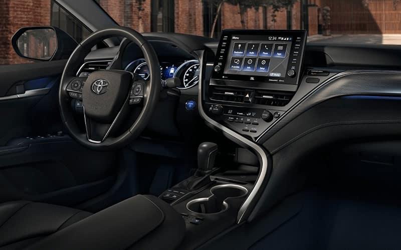 Toyota Camry Hybrid XSE Interior