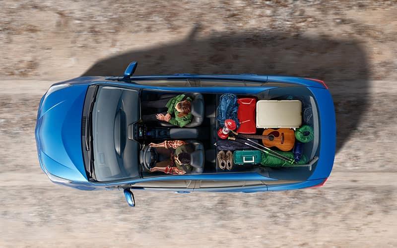 Toyota Prius Interior Versatility