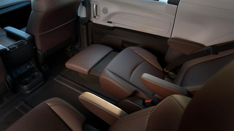 2021 Toyota Sienna Seating Configurations