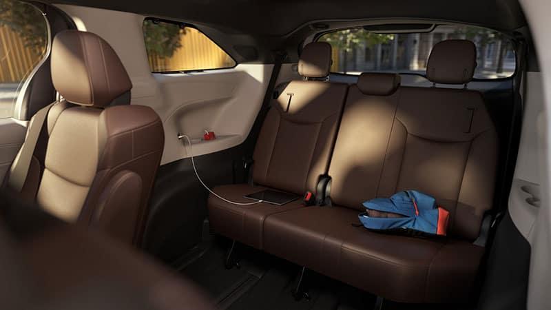 2021 Toyota Sienna 8 Passenger Seating