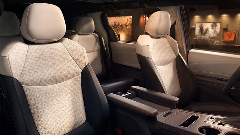2021 Toyota Sienna Cargo Configuration
