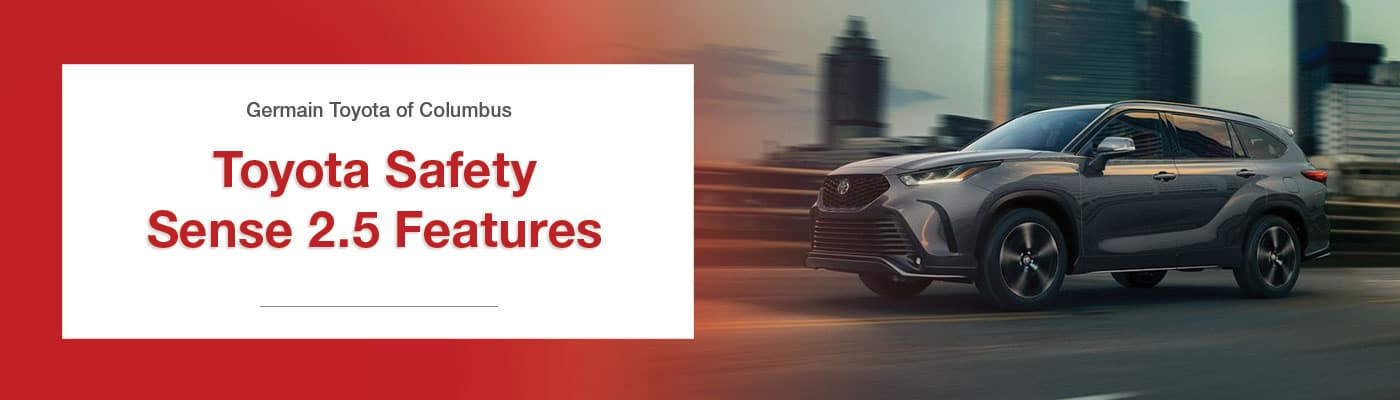 Toyota Safety Sense 2.5 Features Overview