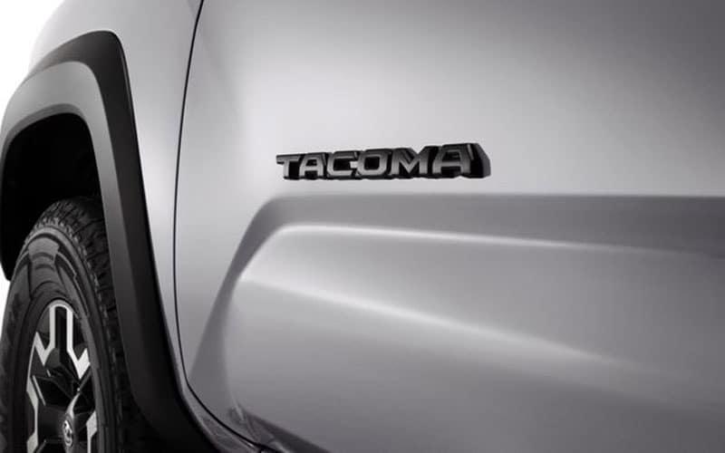 Toyota Tacoma Blackout Emblem Overlays