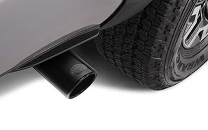 Genuine Toyota Tacoma Black Chrome Exhaust Tip Accessory