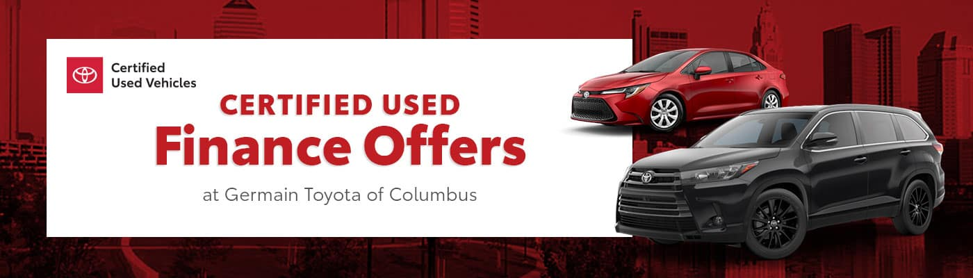 Toyota CPO Finance Offers