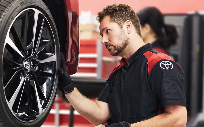Toyota Wheel & Tire Protection