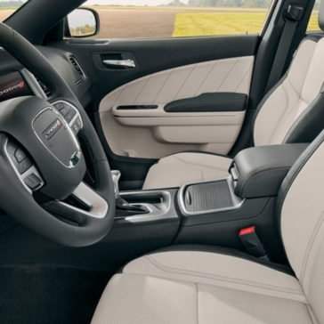 2017 Dodge Charger Cabin