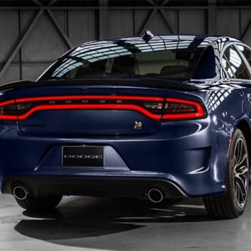 2017 Dodge Charger Rear
