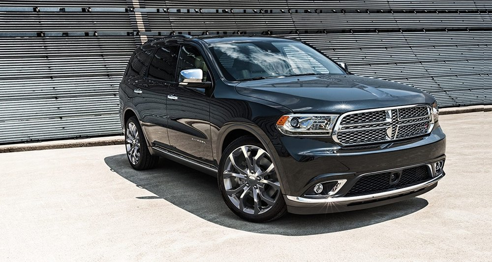 2017 Dodge Durango Black