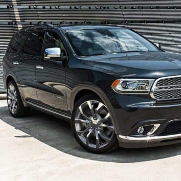 2018 Dodge Durango Parked