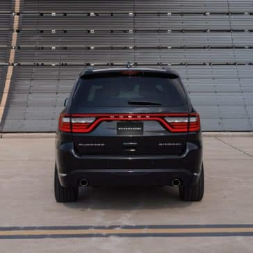 2018 Dodge Durango Rear