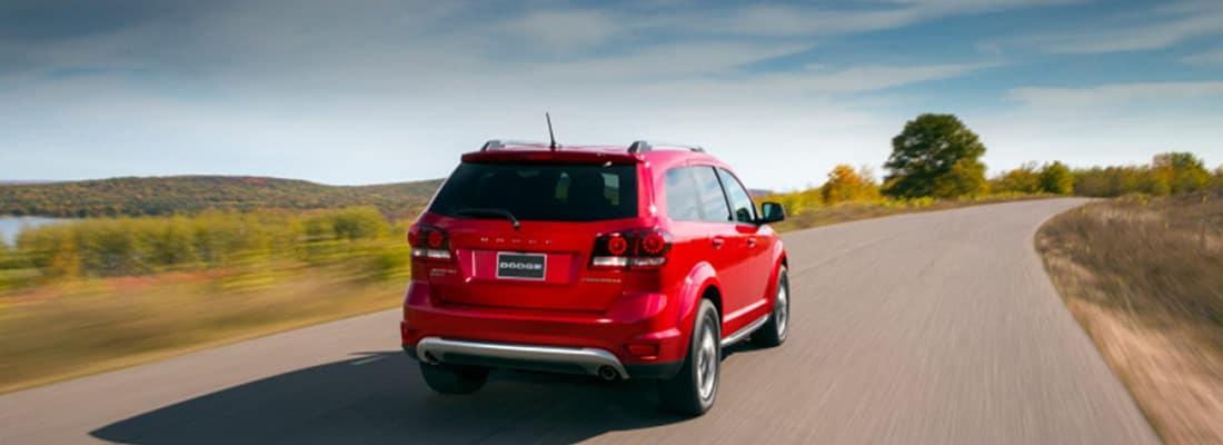 2017 Dodge Journey Rear