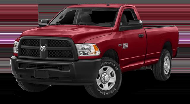 2018 Ram 2500 Red