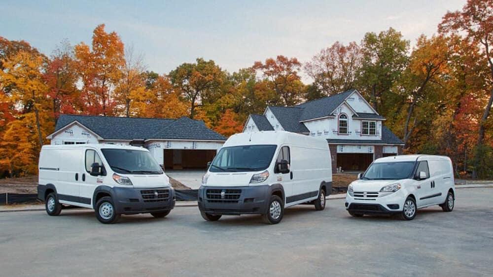 Trio of Ram Vehicles