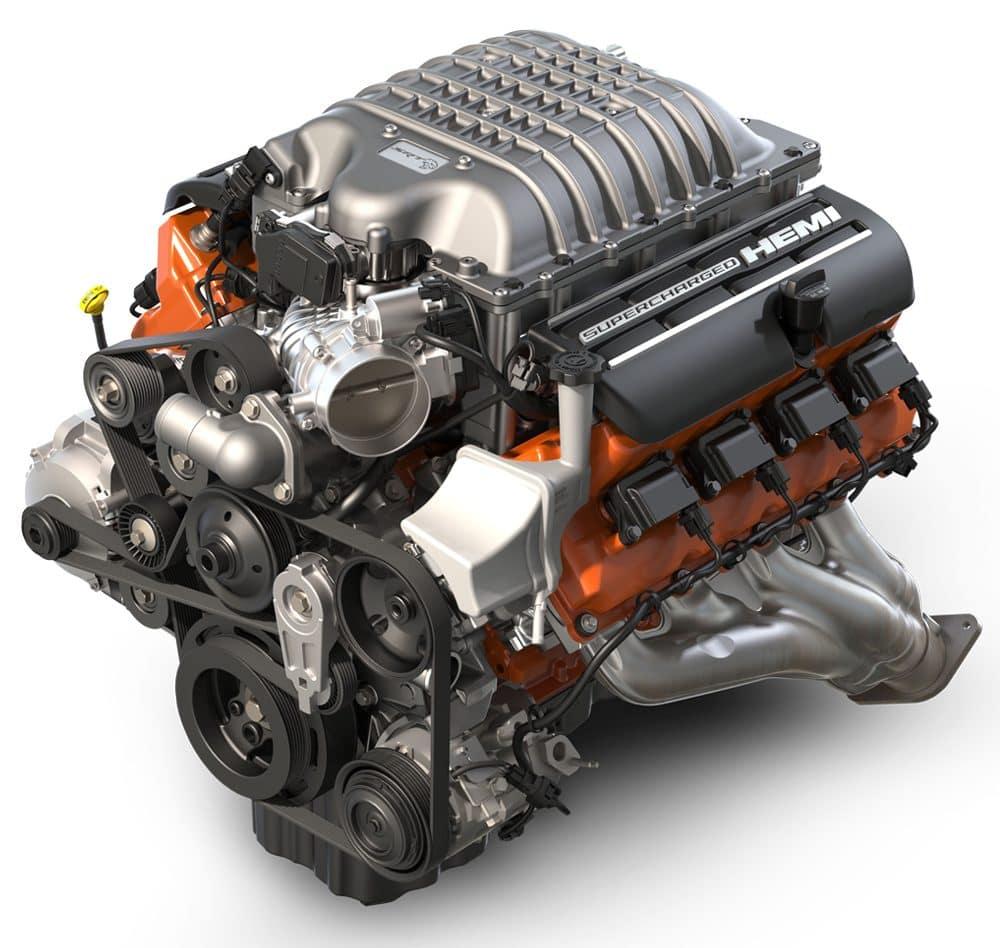 2018 Dodge Charger Engine