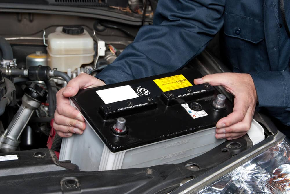 Replacing Vehicle Battery