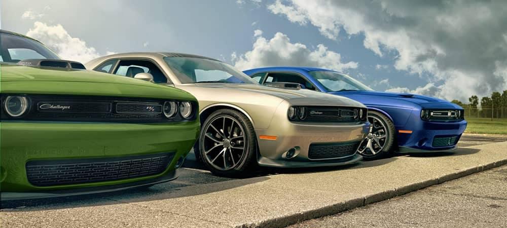 2018 Dodge Challenger Trio