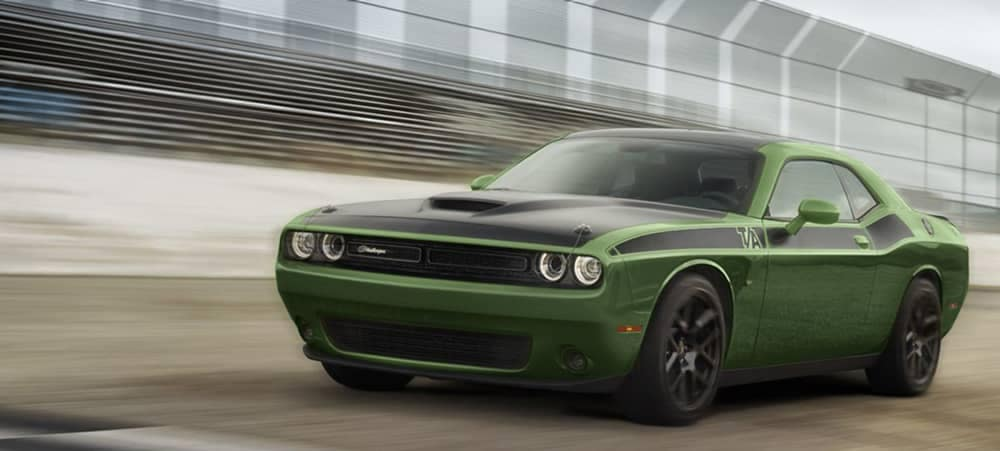 2018 Dodge Challenger Green