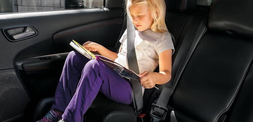 2018 Dodge Journey Child Sitting