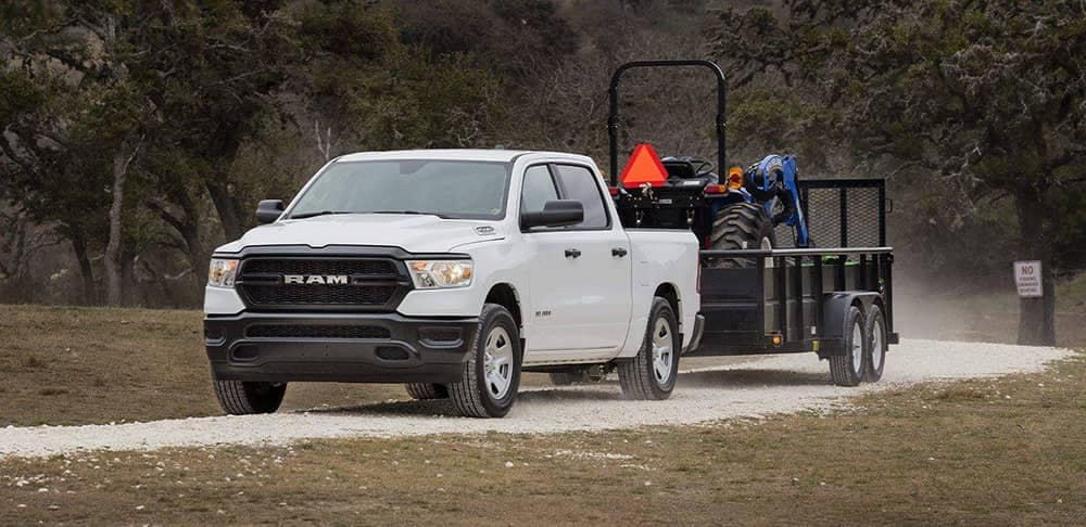 2019 Ram 1500 Towing Tractor