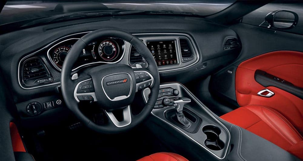 2018 Dodge Challenger steering wheel