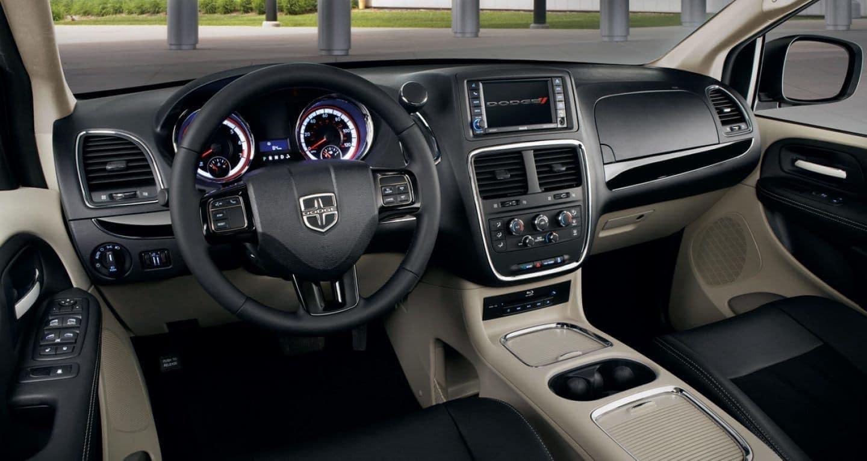 2018 Dodge Grand Caravan driver's seat
