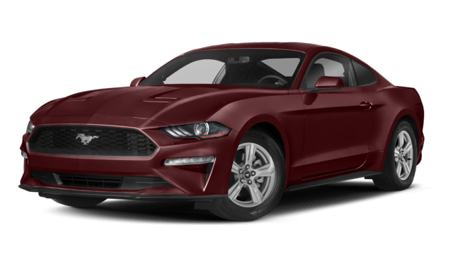 Maroon 2018 Ford Mustang