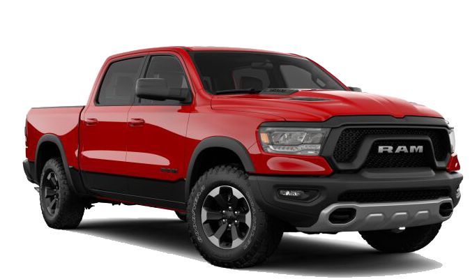 2019 Ram 1500 Rebel red