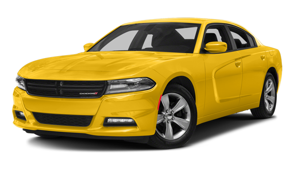 Yellow 2018 Dodge Charger