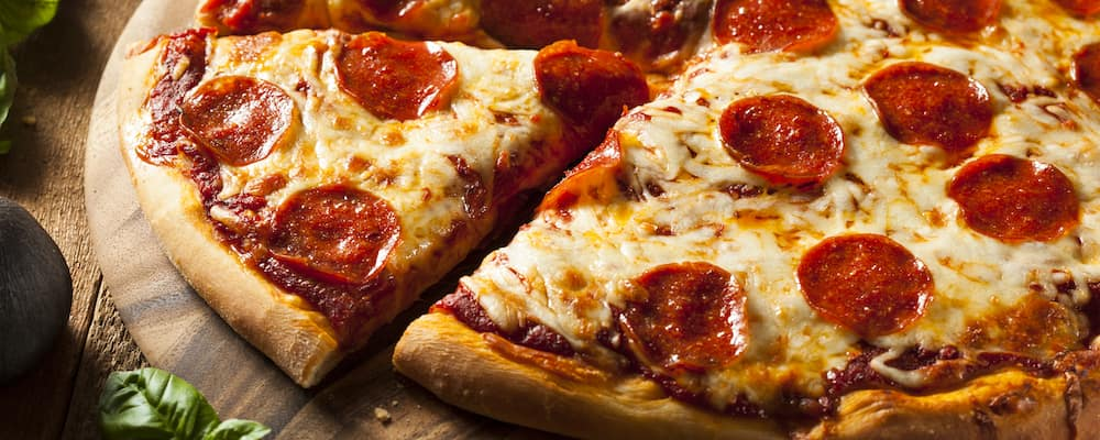Hand Tossed Pepperoni Pizza
