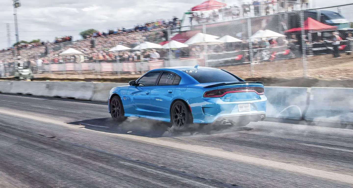 2019 Dodge Charger on track