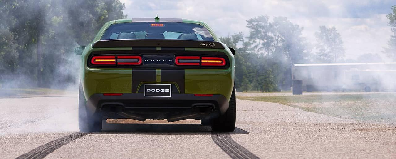 rear end of 2019 Dodge Challenger SRT Hellcat