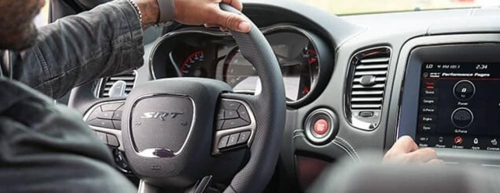 2019 Dodge Durango dashboard