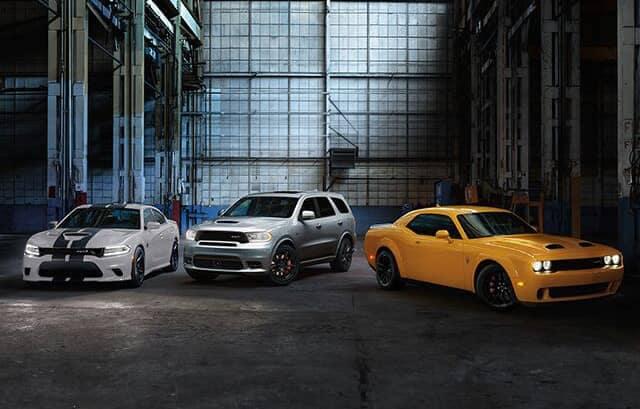 2019 Dodge SRT models