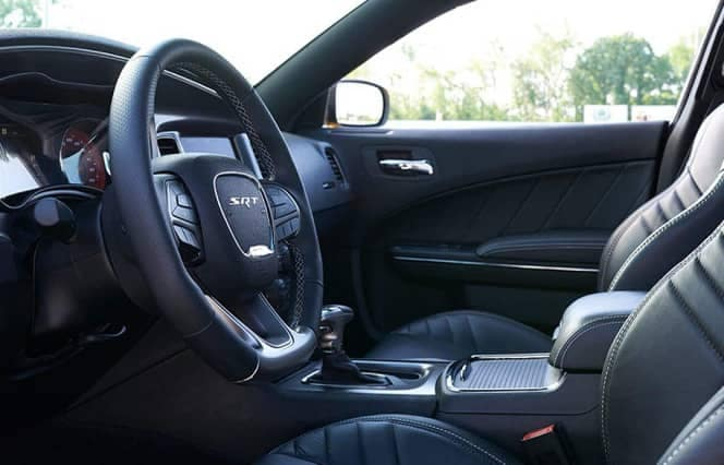 interior cabin of 2019 Dodge Charger