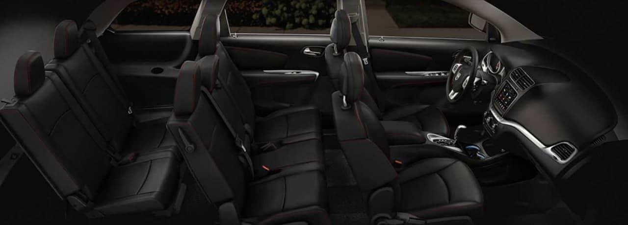 interior cabin 2019 Dodge Journey