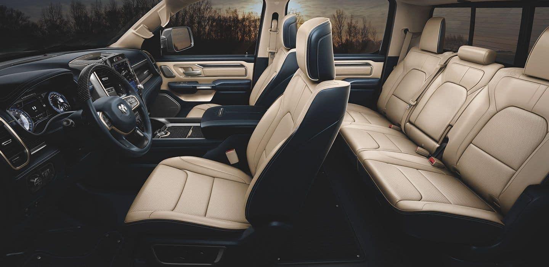 2020 Ram 1500 interior passenger room