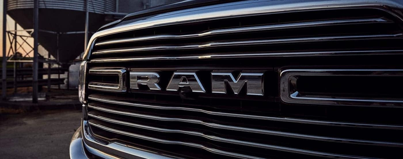 2020 RAM 2500 grille up close