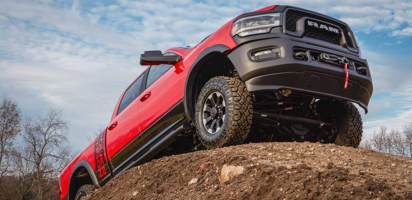 2020 RAM 2500 undercarriage visible