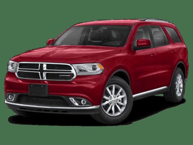 2020 Dodge Durango in red