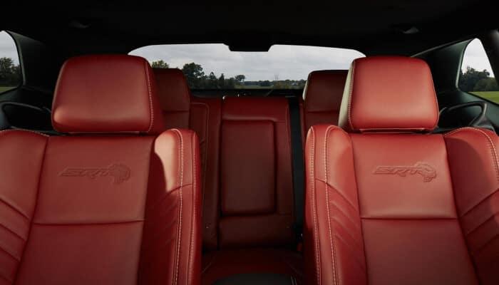 2020 Dodge Challenger interior