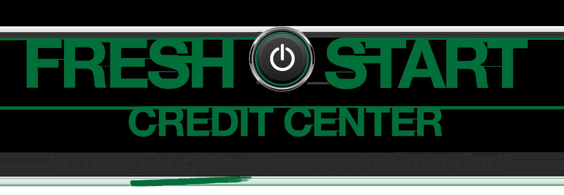 Fresh start credit center, because everyone deserves a great car!