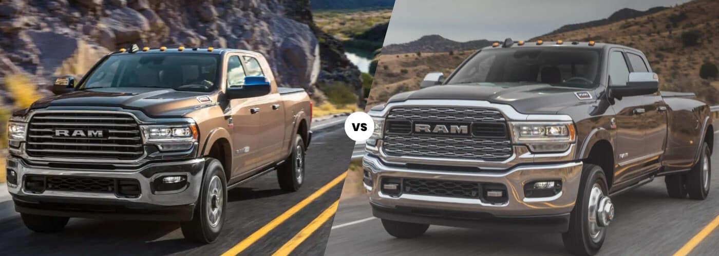 RAM 2500 vs. 3500 banner