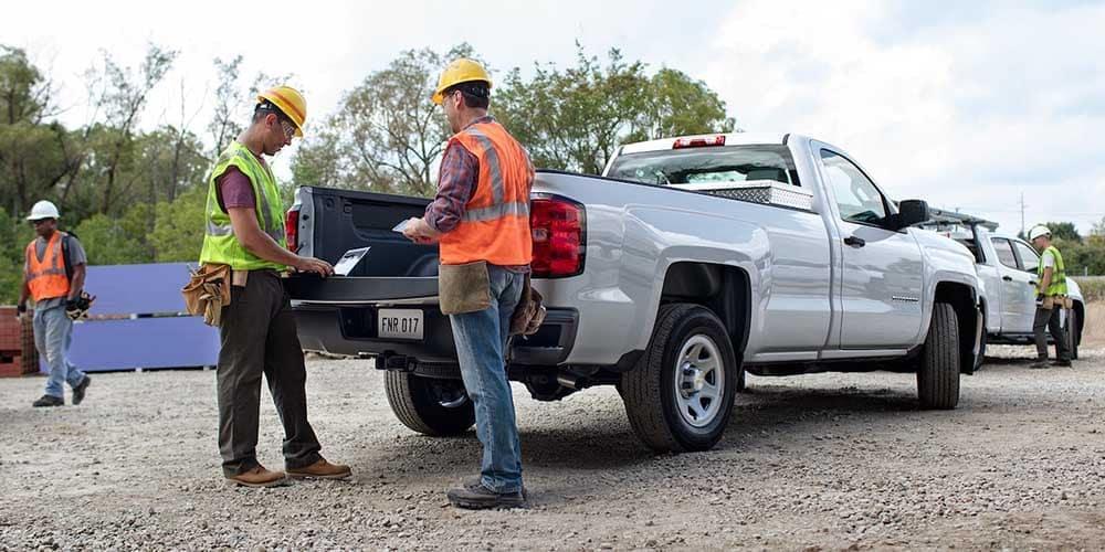 2018 Chevy Silverado 1500 Workers