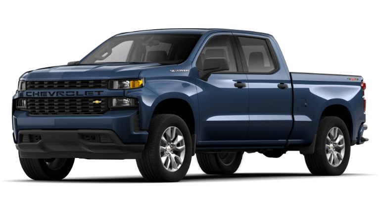 Northsky Blue 2020 Chevy Silverado 1500 Custom