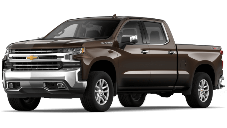 Havana Brown 2020 Chevy Silverado 1500 LTZ