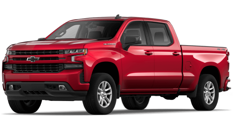 Cajun Red 2020 Chevy Silverado 1500 RST